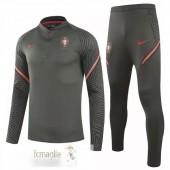 Tuta Calcio Portogallo 2020 Marrone