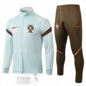 Tuta Calcio Portogallo 2020 Verde Marronee