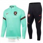 Tuta Calcio Portogallo 2020 Verde Nero