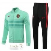 Tuta Calcio Portogallo 2020 Verde