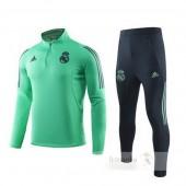 Tuta Calcio Real Madrid 2019 2020 Verde Nero