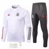 Tuta Calcio Real Madrid 2020 2021 Bianco Grigio