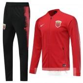 Tuta Calcio SIPG 2019 2020 Rosso Nero
