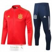 Tuta Calcio Spagna 2020 Rosso