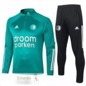 Tuta Feyenoord Rotterdam 2020 2021 Verde Nero