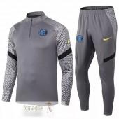 Tuta Inter Milan 2020 2021 Grigio
