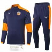 Tuta Valencia 2020 2021 Blu Arancione